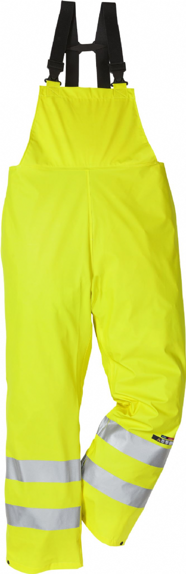 Fristads Flame High Vis Rain Trousers CL 2047 RSHF (Hi Vis Yellow)